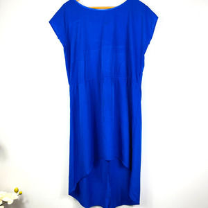 Indulge Blue Casual All Summer Scoop Neck Dress M